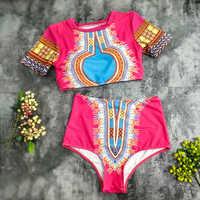 Bikini ustawić 2019 Push up nowy wysokiej talii strój kąpielowy kobiety stroje kąpielowe plus rozmiar 3XL strój kąpielowy dla kobiet druku Bikini kostiumy kąpielowe