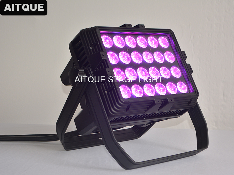 Architectural Led Lighting High Power Led Rgbwa Uv Wall Washer 24x18w City Color 6in1led Wall Washer Light Outdoor