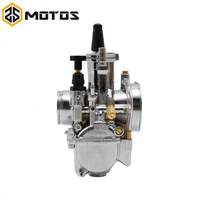 ZS MOTOS Motorcycle Parts New Supper Performance Silver 28mm 30mm 32mm 34mm PWK KOSO Carburetor With Power Jet Fit Race Scooter