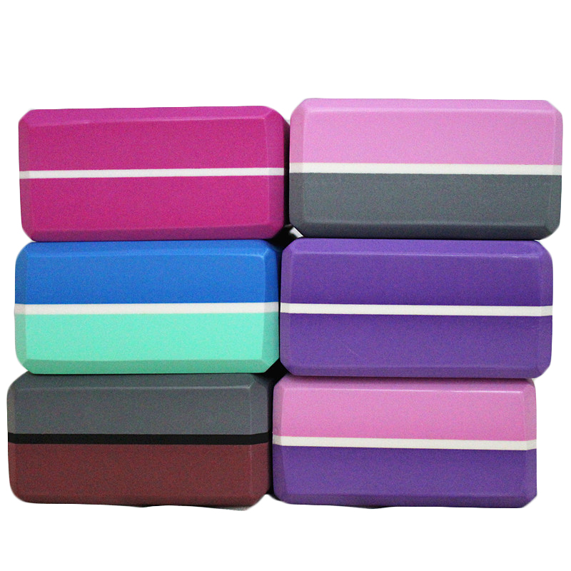 High Quality EVA Yoga Block Brick Sports Exercise Gym Foam Workout Stretching Aid Body Shaping Health Training Fitness A