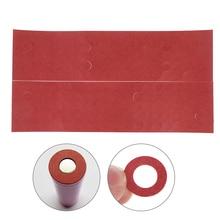 200 шт 18650 изолятор батареи изоляционное кольцо клейкая картонная бумага красный