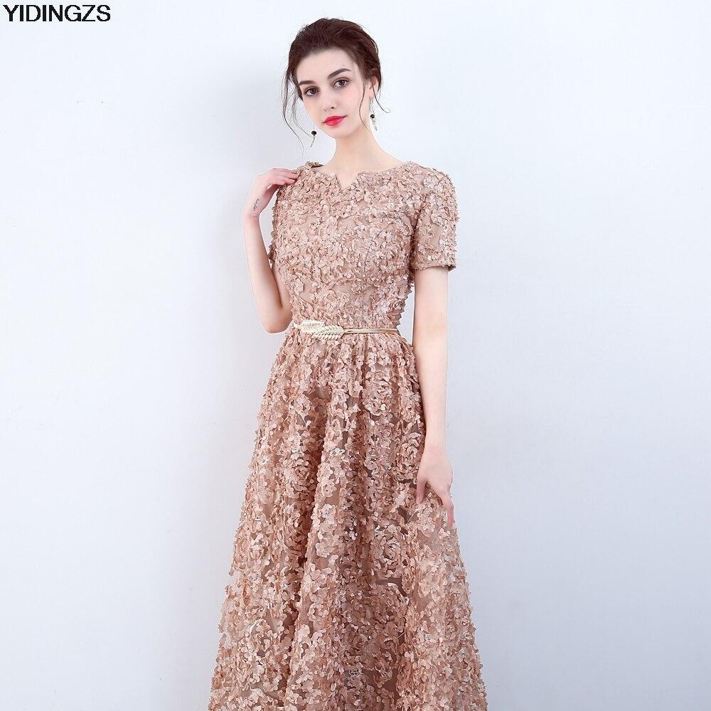 Famoso Vestidos De Dama De Caqui Colección - Ideas de Estilos de ...