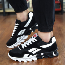 2018 Autumn Winter Casual Sneakers Fashion Trend Mens Shoes Comfortable Breathable Mesh Men vulcanized shoes Size 39-46
