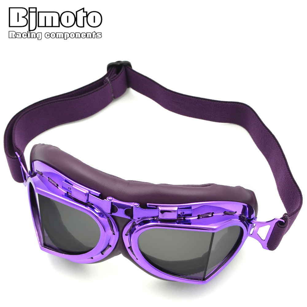 0afd24077f BJMOTO Motorcycle Sport Racing Off Road Leather Motocross Goggles Glasses  Cycling Eye Ware MX-in Motorcycle Glasses from Automobiles   Motorcycles on  ...