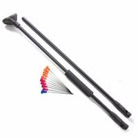 M50 Black Blow Gun With Junction Tube And 10pcs Metal Needles Darts Foam Comfort Grip Fit