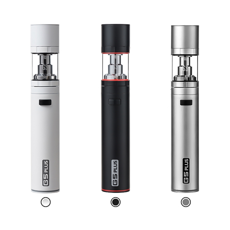 2018 New Arrival GreenSound G5 Plus Electronic Cigarette With 2200mah Battery 3ml Tank Big Vapor Electronic Cigarette Kit