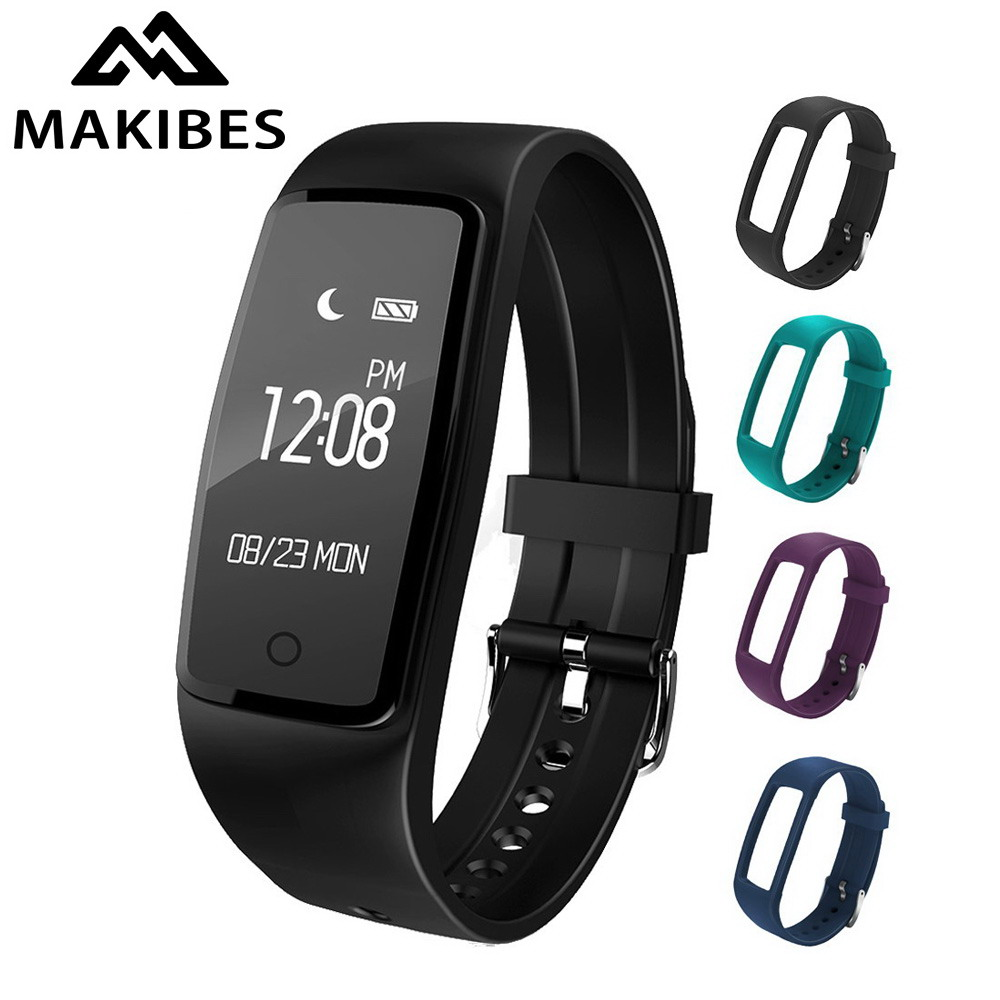 Makibes S1 Smart Bracelet IP67 Waterproof Heart Rate ...