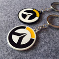 1pair/2pcs Over game of watch Logo phone chain doll 5cm BLZ Anime OW Over the watch figure toy for player pendant decorations