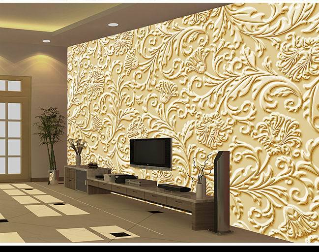 Large environmental mural wall paper 3d wall photo chinese for Chinese wallpaper mural