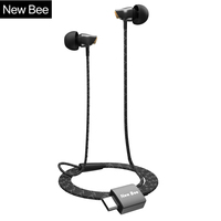 New Bee Type C Earphone USB C Ceramic HIFI Stereo Earbuds Clear Bass Headset For Type