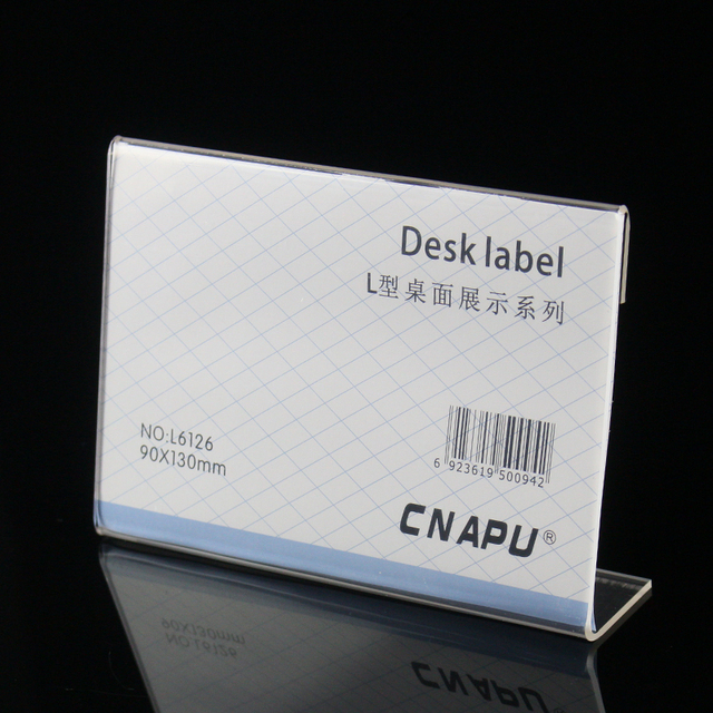 90 130mm customized office meeting using name tags holder