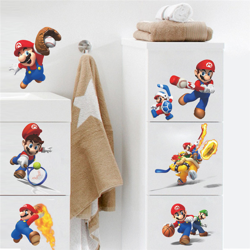 Behang Mario Bros ~ Online kopen Wholesale Mario behang uit China Mario behang Groothandel Aliexpress com