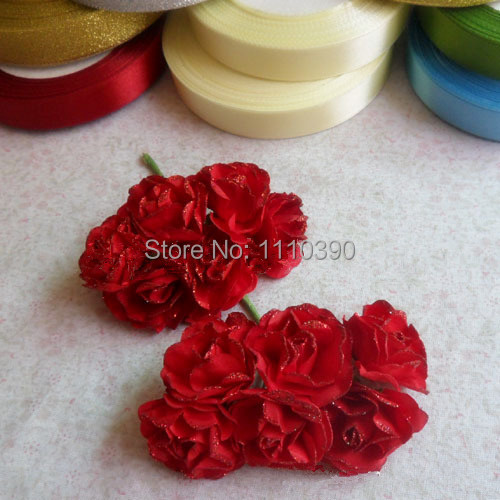 3cm mini artificial flowers wedding bouquetstissue paper rose 3cm mini artificial flowers wedding bouquetstissue paper rose flower real touch rosesdiy hair accessoriesdecoration for home in artificial dried mightylinksfo