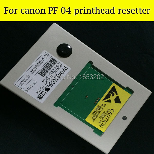 PF04 Printhead Resetter For Canon iPF650/655 iPF750 /755 Printer For Canon PF-04 Print head Free Post chip resetter for canon pf 04 printhead reset canon ipf lfp series new printer parts