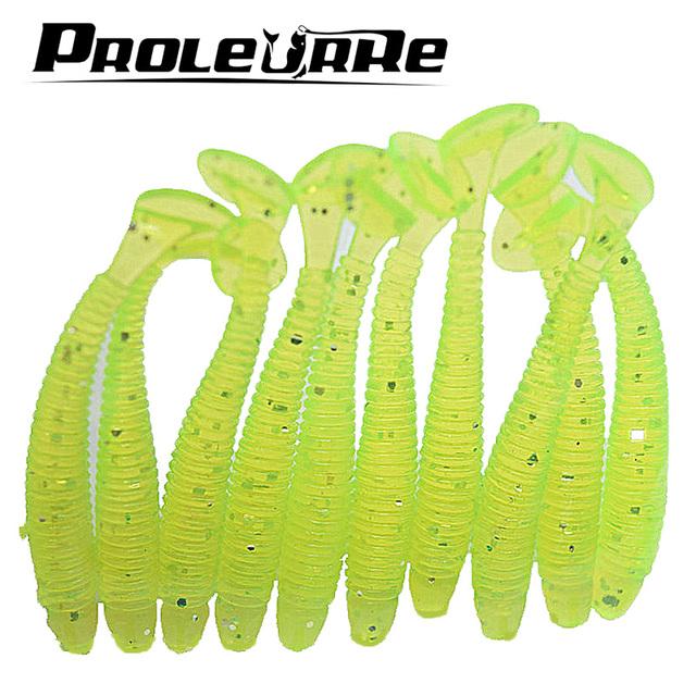 10 Pcs/pack 0.7g 5cm for Fishing Worm Swimbait Jig Head Soft Lure Fly Fishing Bait Fishing Lure YR-200 @32799685945