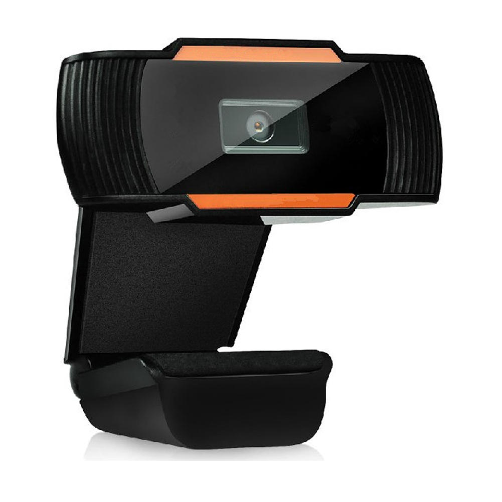 Web-Camera Webcam Notebook Computer Laptop Skype Clip-On USB With MIC For PC 360-Degree