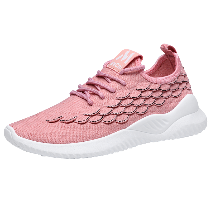 Summer Flynit Casual Shoes Women's Shoes Mesh Lightweight Breathable Comfortable Soft Sports Shoes Women's Vulcanize Shoes