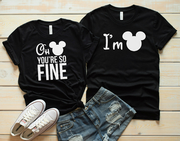 Mickey Couple T-shirt Oh You Are So Fine