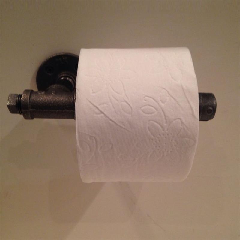 Forró eladó falra szerelhető WC-papír tartó Ipari antik - Szervezés és tárolás - Fénykép 2