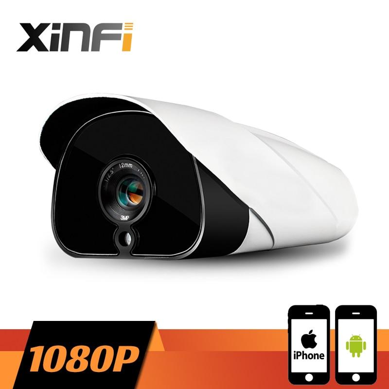 XINFI HD CCTV camera 2.0 MP night vision Outdoor Waterproof network 1920*1080P CCTV IP camera P2P ONVIF 2.0 PC&Phone remote view