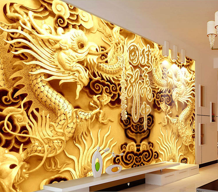Chinese silk wallpaper reviews online shopping chinese for Chinese wallpaper mural