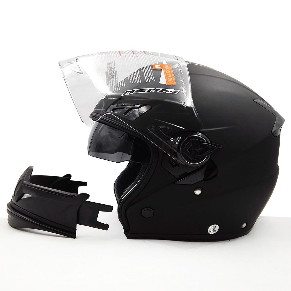 НЭНЬКИ модульная открытая анфас мотоцикл Хельме лошади да мотоциклиста Cascos Мото шлем каска шлем FF850 двойной линзы шлемы