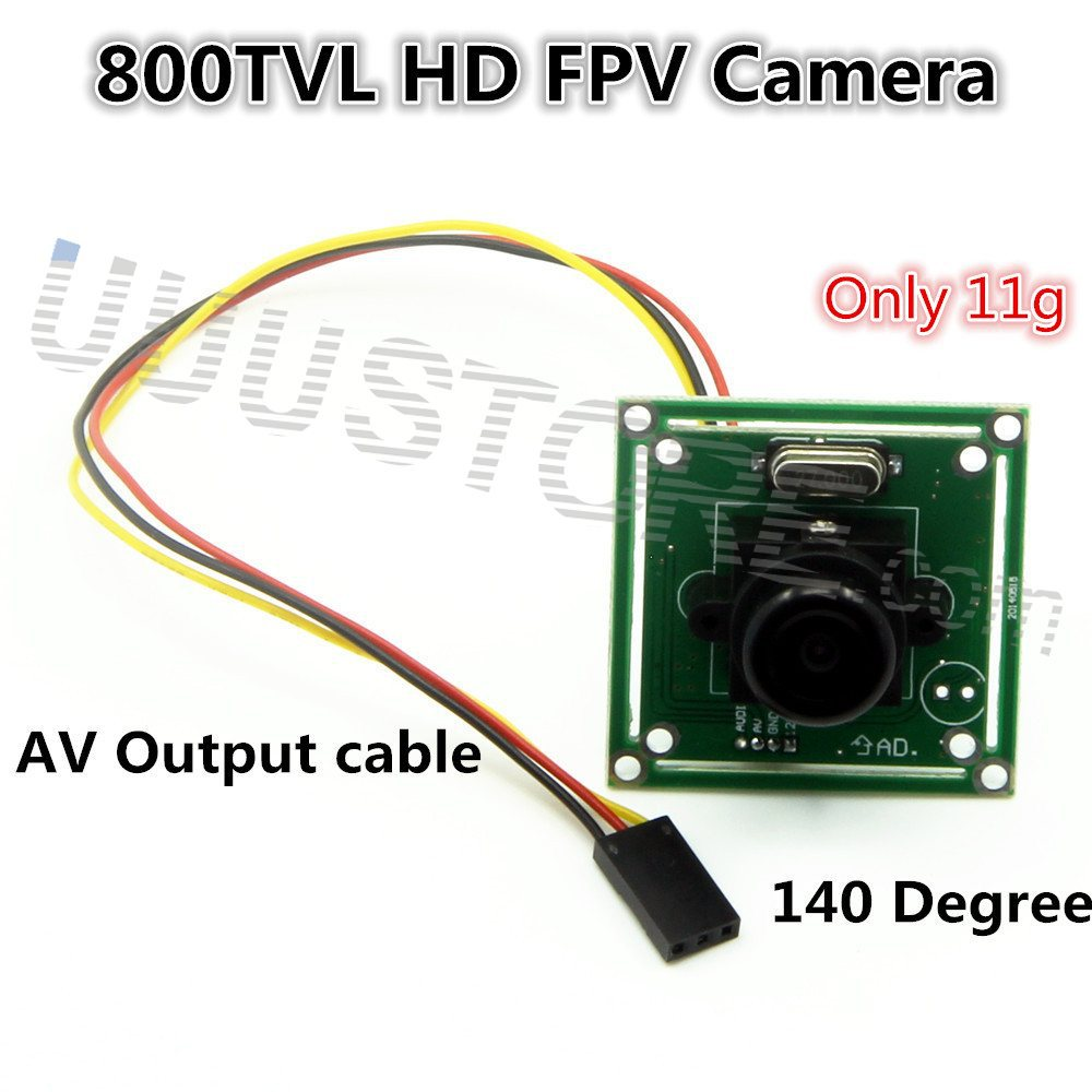 HD 800TVL 140 Degree 3 6MM Mini SONY CCD LENS FPV Camera For RC Quadcopter QAV250