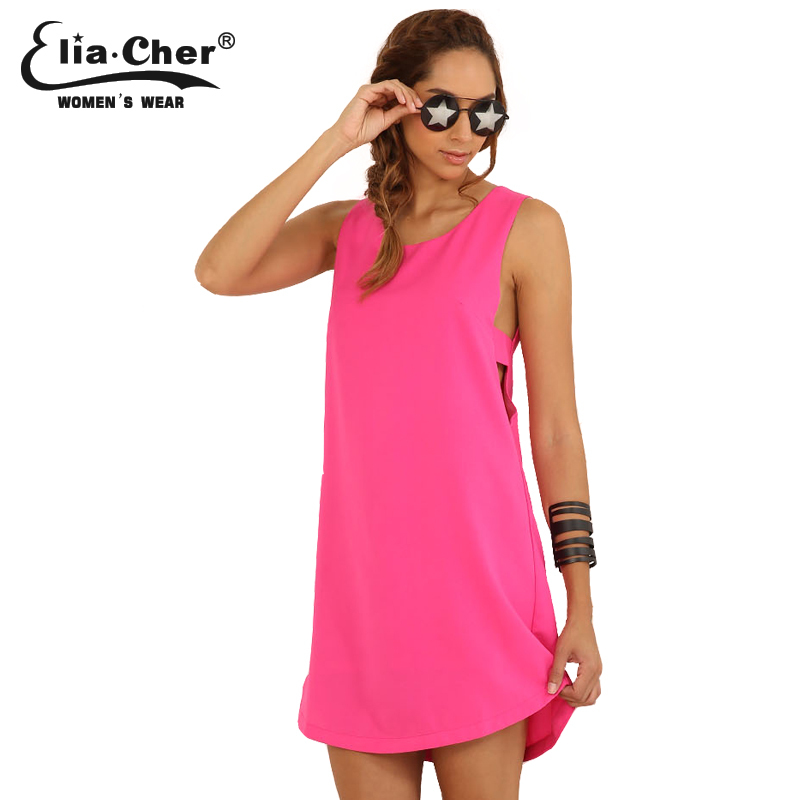 Vestido de verano mujeres Vestidos Elia Cher marca ropa sexy fiesta ...