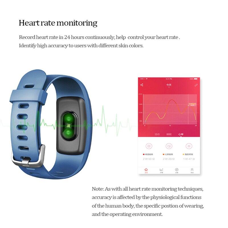 ID107 Plus HR GPS Smart Polsbandje Hartslagmeter Stappenteller ...