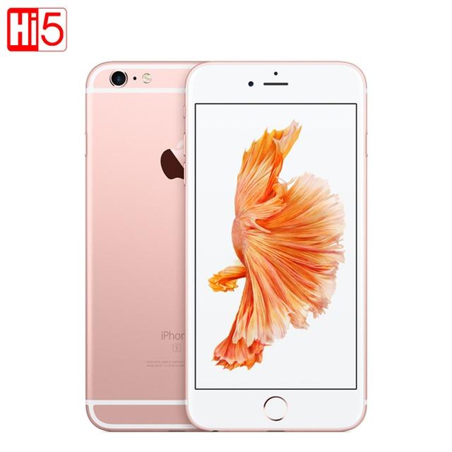 """잠금 해제 된 기존 Apple iPhone 6S 2GB RAM 16/64/128GB ROM 휴대 전화 IOS 4.7 """"iOS LTE 12.0MP LTE iphone6s 스마트 폰"""