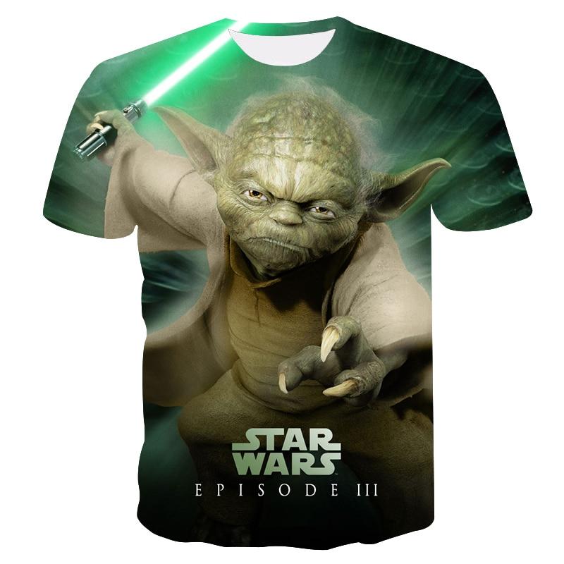 Men's T-shirt 3D Printing Alien Cartoon T-shirt 2018 Summer street fashion brand unisex casual T-shirt Quick-drying O-Neck tops