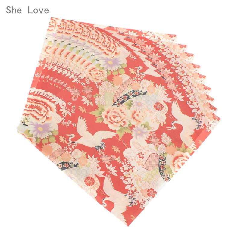 เธอรัก 72 แผ่นญี่ปุ่นดอกไม้กระดาษดอกไม้ Origami กระดาษ Scrapbooking DIY หัตถกรรมตกแต่ง