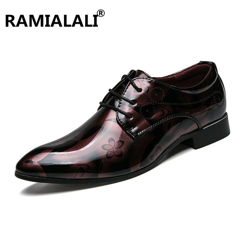 D'affaires De Chaussures Ascenseur Ramialali rouge Cuir Croissante Hauteur Hommes En Robe Bleu Classique 5qFS1xFnv