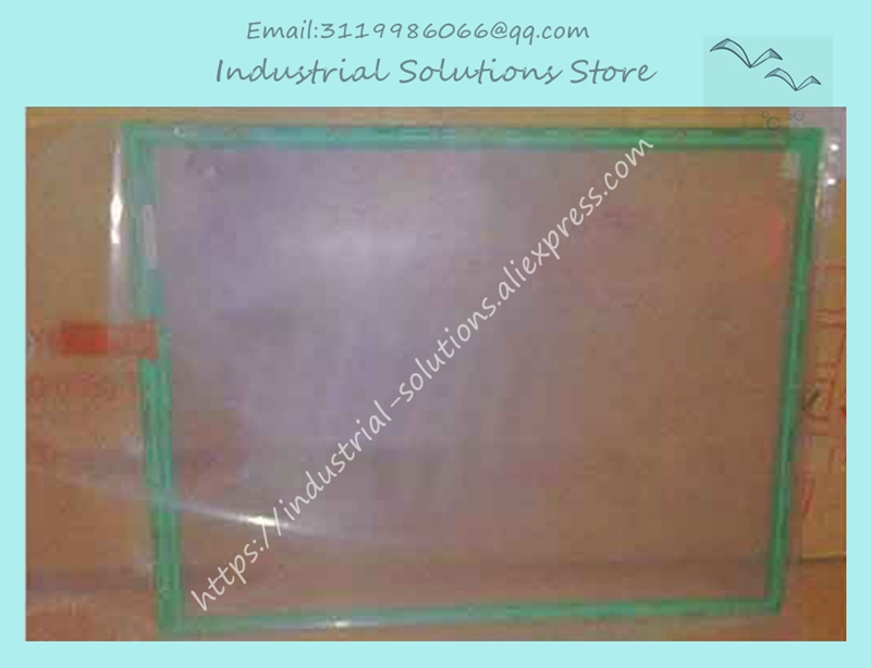 New Original 7 Wire Touch Screen glass N010-0510-T214 original 7 wire touch screen n010 0550 t717 industrial touch screen