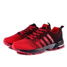 Стабильная спортивная обувь для мужчин и женщин; сезон осень-зима; тренировочные кроссовки пропускающие воздух беговые для улицы; ультралегкие теннисные туфли
