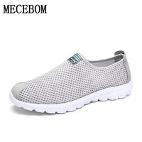 Unisex Summer Breathable Mesh Woater Shoes Superlight Women Flats Fashion Casual WBrand Designer Female Beach Shoes