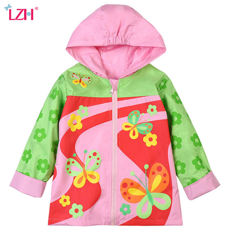 c0779f720 LZH 2018 Spring Autumn Jacket For Girls Windbreaker Trench Coat For Boys  Raincoat Jacket Kids Outerwear Coat Children Clothes