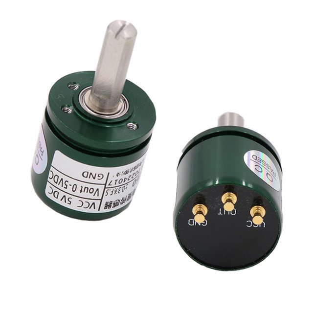 US $20 18 31% OFF|Hall Angle Sensor Non contact 0 360 Degree Angular Torque  Rotation Sensor 12bit Displacement Sensor Position Sensor 0 5V-in Sensors