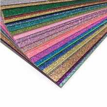 Glitter Craft Paper Cardstock Party Decoration Gift Wrapping Paper Card Making DIY Scrapbook Paper Craft JC 12''x12''