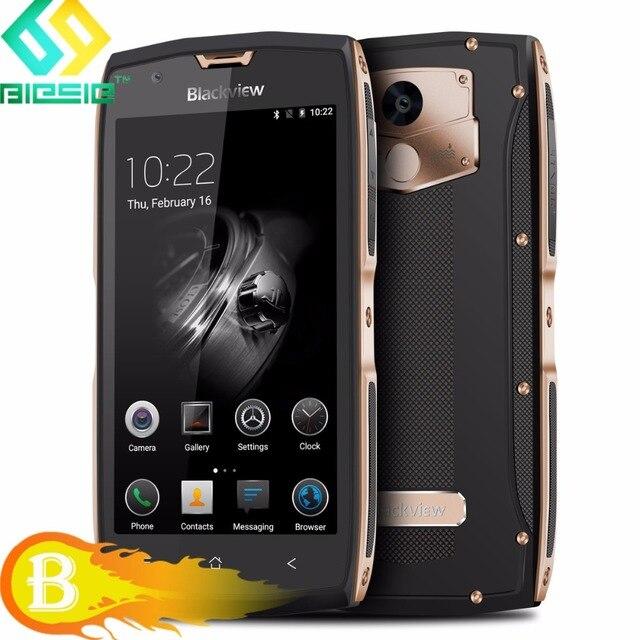 2017 Blackview BV7000 Pro Rugged Phone IP68 Waterproof Smartphone 5.0'' 4GB+64GB Fingerprint MTK6750T Octa Core 13.0MP 3500mAh