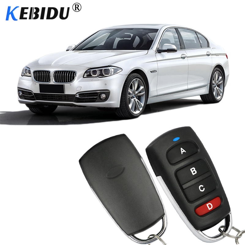 Универсальный автомобильный пульт дистанционного управления kebidu 433 МГц, умная электрическая дверь гаража, сменный клонирующий ключ