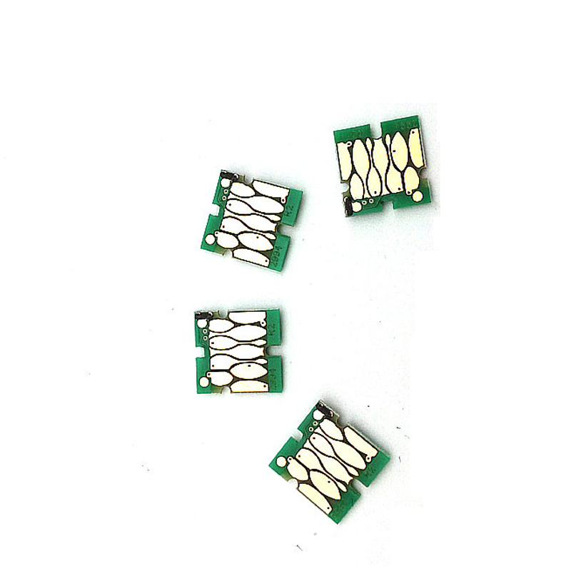 einkshop T9071 - T9074 T9081 T9084 Cartridge Chip For Epson WorkForce Pro WF-6590 WF-6090 Prinrer One times