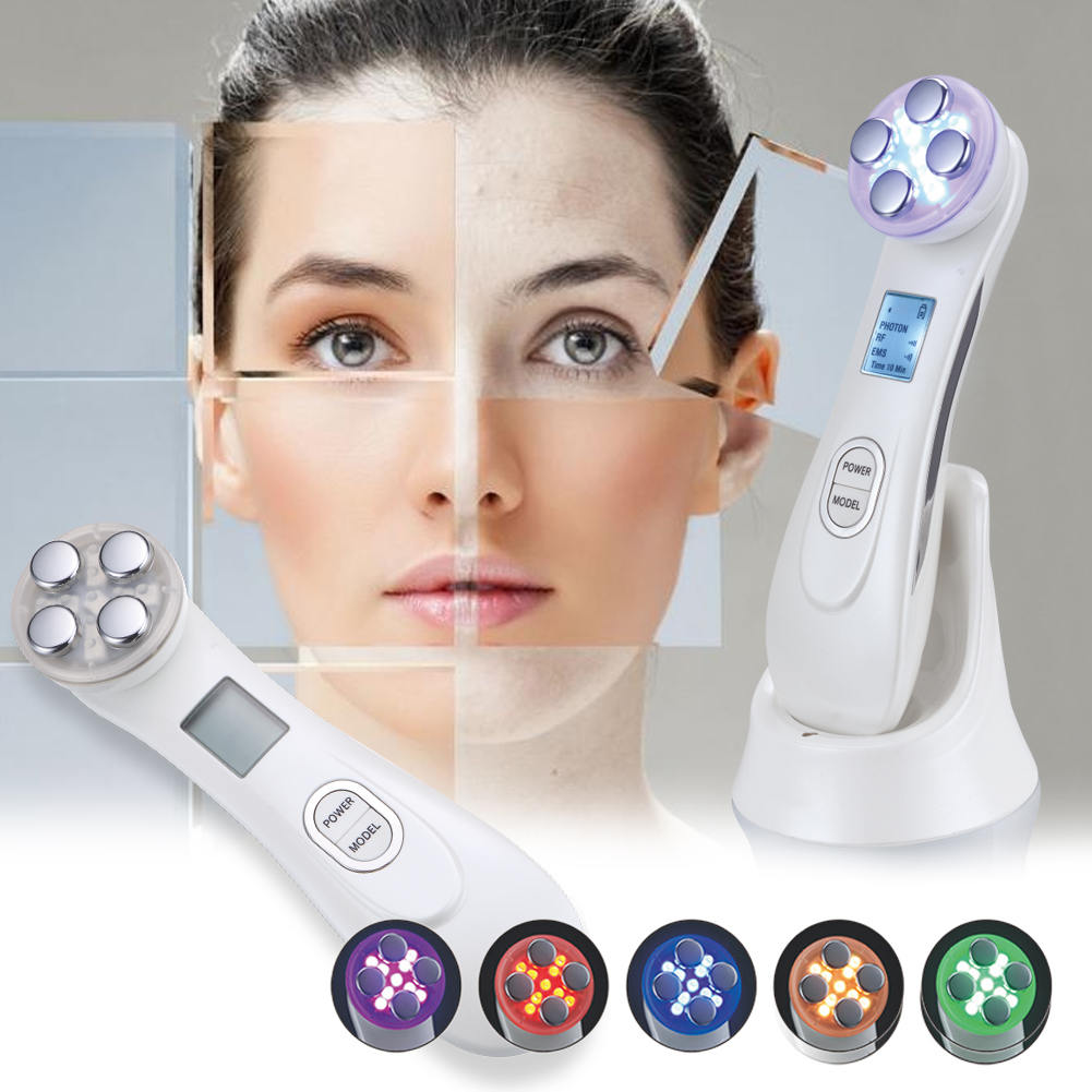 Ultrasonic Electronic Beauty Instrument Facial Massager Whitening Remove Wrinkle Acne Fat Burn SPA Face Skin Care Tool Skin Lift new technology mini home face facial massager beauty health care skin lift device ultrasonic ion cleanser whitening anti acne