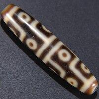 Arsun Bijoux Tibet Dzi Perles 12 Yeux Ivoy Jaune couleur Vrai Article de Collection DIY perdre Perles Livraison Gratuite