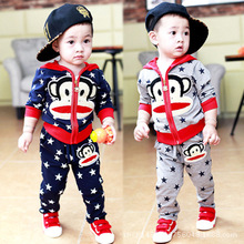 Toddler Boys Girl Clothing Sets Virgin Baby Suit For Children Autumn Hooded Zipper 2pcs Suit Kids Outfits Newborn-baby-clothes