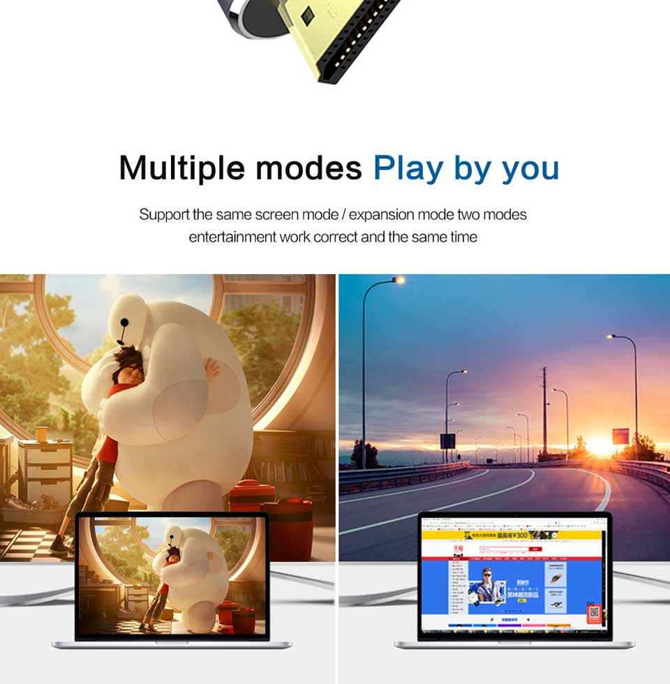 QGeeM USB C to HDMI 4K Cable adapter Type C HDMI Thunderbolt 3 for huawei mate 20 macBook pro 2018  pro galaxy S9 HDMI USB-C