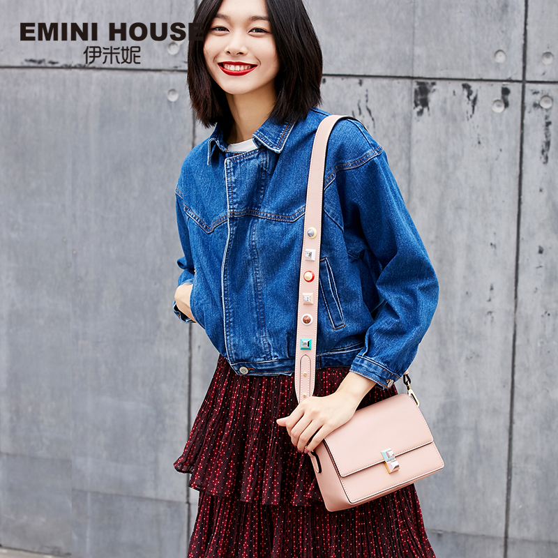 EMINI HOUSE Acrylic Crossbody Bag Women Messenger Bags Luxury Shoulder Bag for Women Lady Purse with Acrylic Shoulder Strap