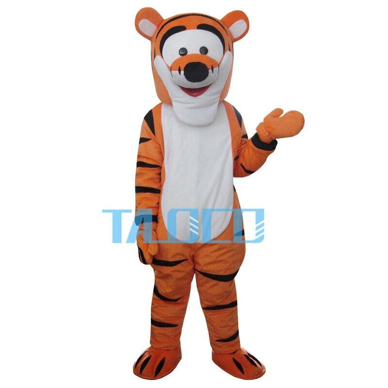 Usine Ventes Tigrou Tigre De Mascotte Parti Cartoon Costume Robe Cosplay robe