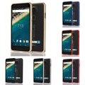 Para lg nexus 5x caso de luxo ultra fino de metal de alumínio bumper case capa quadro para google nexus 5x nexus5x casos