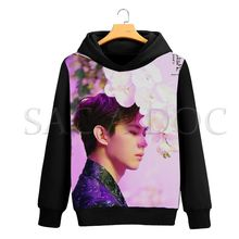 VIXX Kpop 3D Printing Hoodies Sweatshirt Women Men Long Sleeve Pullover Hooded Hyuk/N Fans Streetwear Casual Hoodie Sweatshirt(China)